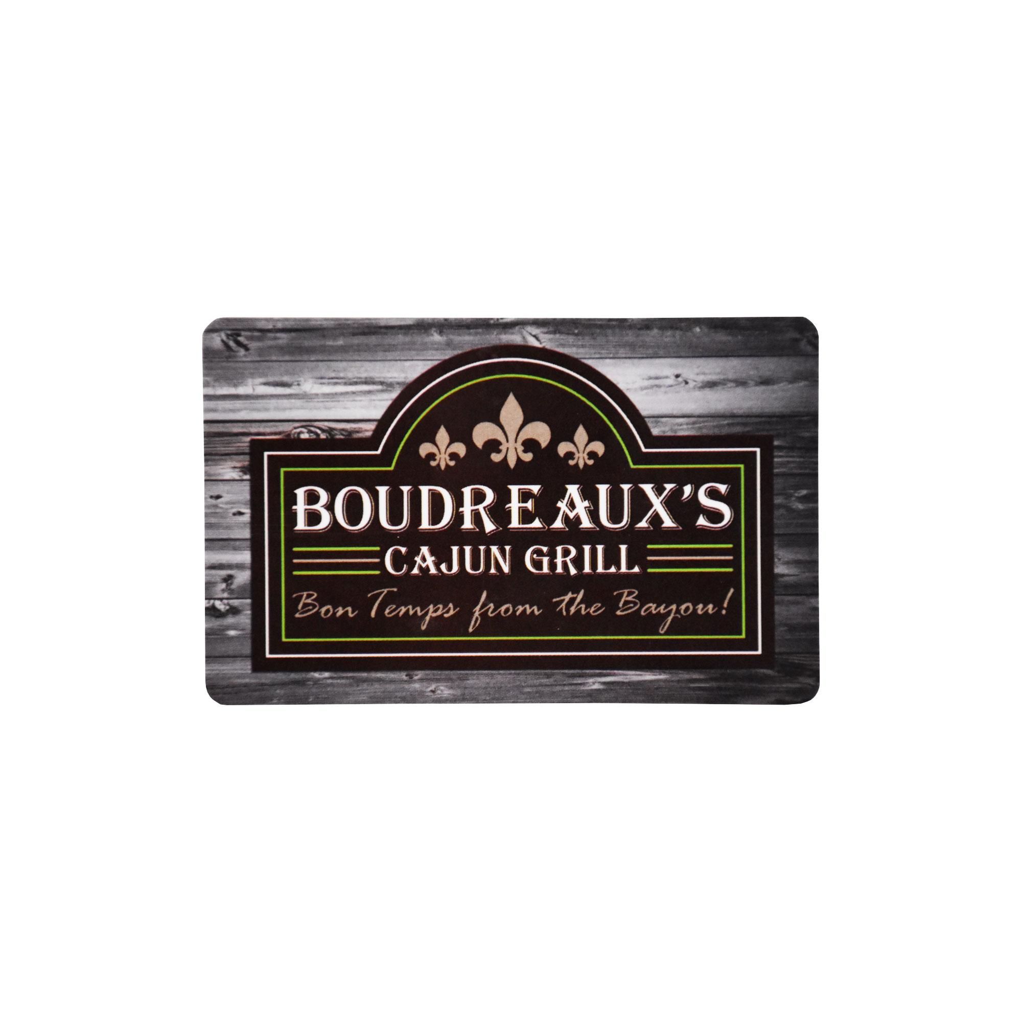 Boudreaux's Cajun Grill - Gift Card